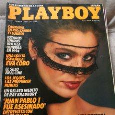Coleccionismo de Revistas y Periódicos: REVISTA PLAYBOY ,FEBRERO 1985. Lote 131729718
