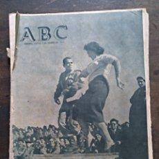 Coleccionismo de Revistas y Periódicos: ABC 2 ENERO 1958. LA NOCHE VIEJA EN SIDI IFNI. CARMEN SEVILLA. Lote 194911300