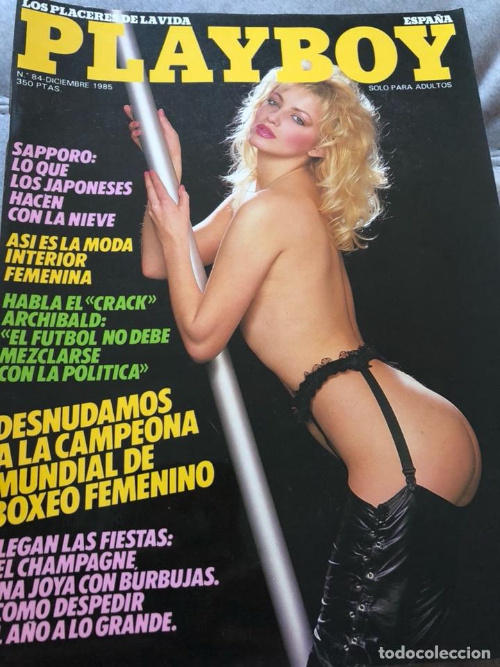 REVISTA PLAYBOY,DICIEMBRE 1985 (Coleccionismo - Revistas y Periódicos Modernos (a partir de 1.940) - Otros)