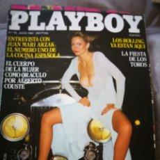 Coleccionismo de Revistas y Periódicos: REVISTA PLAYBOY,JULIO 1982. Lote 131733441
