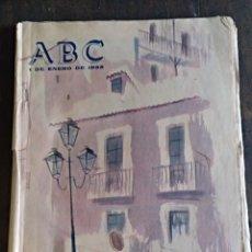 Coleccionismo de Revistas y Periódicos: ABC 1 ENERO 1955. PORTADA EDUARDO VICENTE. TRIUNFO INTERNACIONAL DE MENDES-FRANCE. Lote 131734189