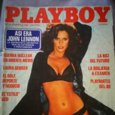 Coleccionismo de Revistas y Periódicos: REVISTA PLAYBOY ,FEBRERO 1981. Lote 131737058