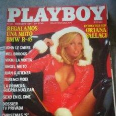Coleccionismo de Revistas y Periódicos: REVISTA PLAYBOY,DICIEMBRE 1981. Lote 131737410