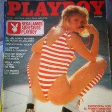 Coleccionismo de Revistas y Periódicos: REVISTA PLAYBOY. Lote 131738379