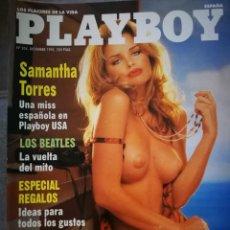 Coleccionismo de Revistas y Periódicos: REVISTA PLAYBOY,DICIEMBRE 1995. Lote 131742254