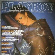 Coleccionismo de Revistas y Periódicos: REVISTA PLAYBOY,FEBRERO 1983. Lote 131745335
