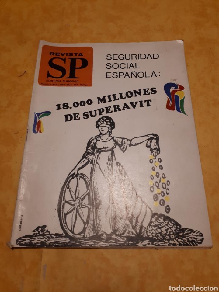 REVISTA SP N° 433 (Coleccionismo - Revistas y Periódicos Modernos (a partir de 1.940) - Otros)
