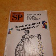 Coleccionismo de Revistas y Periódicos: REVISTA SP N° 433. Lote 131751838