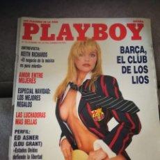 Coleccionismo de Revistas y Periódicos: REVISTA PLAYBOY,DICIEMBRE 1989. Lote 131753619