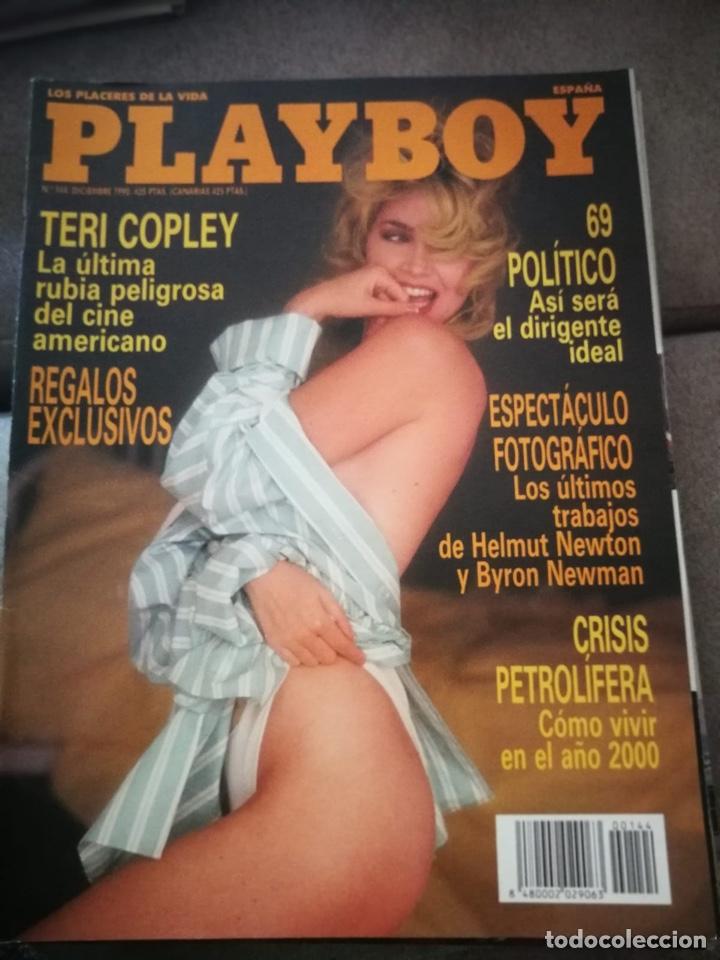 REVISTA PLAYBOY,DICIEMBRE 1990 (Coleccionismo - Revistas y Periódicos Modernos (a partir de 1.940) - Otros)