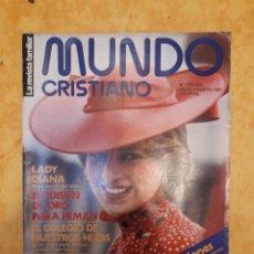 Coleccionismo de Revistas y Periódicos: MUNDO CRISTIANO ESPECIAL N° 222-223. Lote 131773803