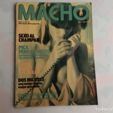 Coleccionismo de Revistas y Periódicos: MACHO VOL. 3 Nº 32 SUSANA ESTRADA-TERESA JIMENEZ REVISTA EROTICA DE LOS 90. Lote 131853090