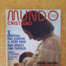 Coleccionismo de Revistas y Periódicos: MUNDO CRISTIANO N° 152. Lote 131887163
