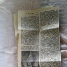 Coleccionismo de Revistas y Periódicos: EL ENCUENTRO DE FRANCO Y HITLER HENDAYA-RECORTES HERALDO ARAGON-RAMON SERRANO SUÑER-III-IV-V-VI-. Lote 131935626