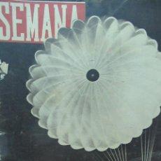 Coleccionismo de Revistas y Periódicos: REVISTA SEMANA JUNIO DE 1944 NUMERO 225 TZ. Lote 132045782
