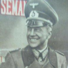 Coleccionismo de Revistas y Periódicos: REVISTA SEMANA 8 JULIO DE 1941 NUMERO 72 LA BATALLA DE RUSIA TZ. Lote 132045794