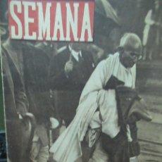 Coleccionismo de Revistas y Periódicos: REVISTA SEMANA 18 AGOSTO DE 1942 NUMERO 130 TZ. Lote 132045842