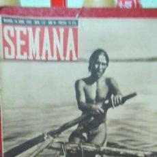 Coleccionismo de Revistas y Periódicos: REVISTA SEMANA 14 ABRIL DE 1942 NUMERO 112 TZ. Lote 132045854