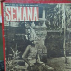 Coleccionismo de Revistas y Periódicos: REVISTA SEMANA 17 MARZO DE 1942 NUMERO 108 TZ. Lote 132045902