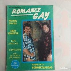 Coleccionismo de Revistas y Periódicos: ROMANCE GAY Nº 4 - REVISTA GAY AÑOS 90 LEMAVO75. Lote 132159310