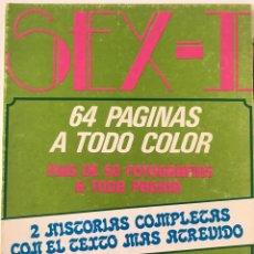 Coleccionismo de Revistas y Periódicos: REVISTA EROTICA SEX-I. Lote 132224141
