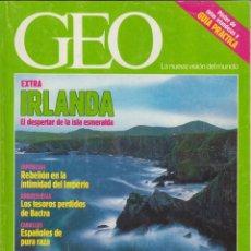 Coleccionismo de Revistas y Periódicos: REVISTA GEO Nº 56. SEPTIEMBRE 1991. EXTRA, IRLANDA: EL DESPERTAR DE LA ISLA ESMERALDA.. Lote 132283302