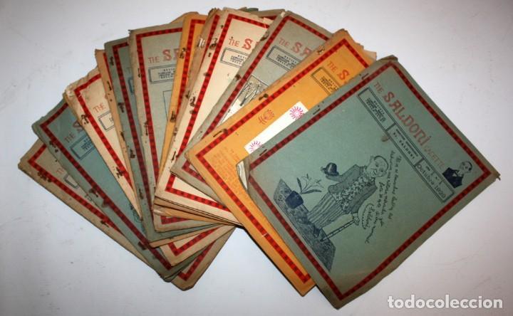THE SALDONI GACETTE. RARAS REVISTAS DE HUMOR. 27 NUMEROS (COMPLETA) AÑO 1929 AL 1931 (Coleccionismo - Revistas y Periódicos Antiguos (hasta 1.939))