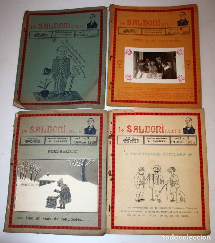 Coleccionismo de Revistas y Periódicos: THE SALDONI GACETTE. RARAS REVISTAS DE HUMOR. 27 NUMEROS (COMPLETA) AÑO 1929 AL 1931 - Foto 2 - 132383654