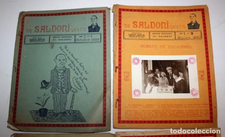 Coleccionismo de Revistas y Periódicos: THE SALDONI GACETTE. RARAS REVISTAS DE HUMOR. 27 NUMEROS (COMPLETA) AÑO 1929 AL 1931 - Foto 3 - 132383654