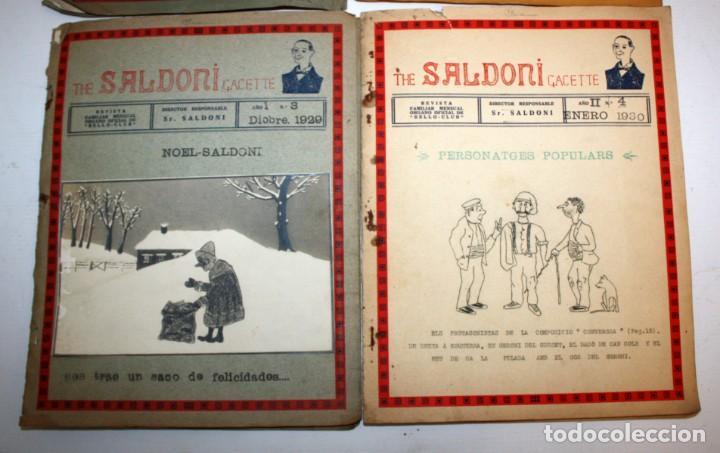 Coleccionismo de Revistas y Periódicos: THE SALDONI GACETTE. RARAS REVISTAS DE HUMOR. 27 NUMEROS (COMPLETA) AÑO 1929 AL 1931 - Foto 4 - 132383654