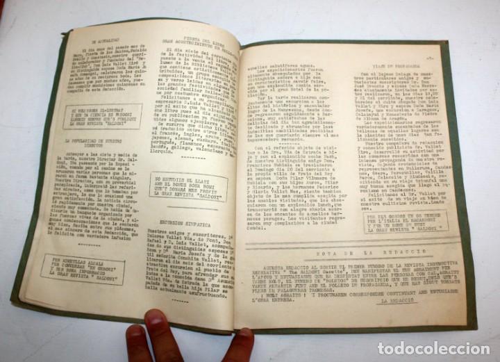 Coleccionismo de Revistas y Periódicos: THE SALDONI GACETTE. RARAS REVISTAS DE HUMOR. 27 NUMEROS (COMPLETA) AÑO 1929 AL 1931 - Foto 5 - 132383654