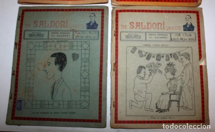 Coleccionismo de Revistas y Periódicos: THE SALDONI GACETTE. RARAS REVISTAS DE HUMOR. 27 NUMEROS (COMPLETA) AÑO 1929 AL 1931 - Foto 7 - 132383654