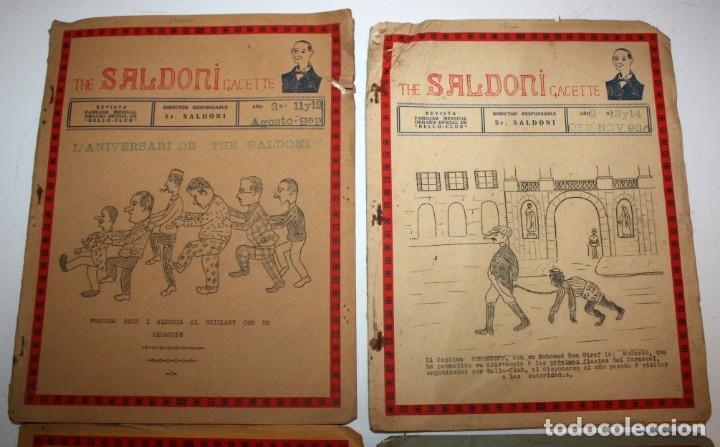Coleccionismo de Revistas y Periódicos: THE SALDONI GACETTE. RARAS REVISTAS DE HUMOR. 27 NUMEROS (COMPLETA) AÑO 1929 AL 1931 - Foto 8 - 132383654