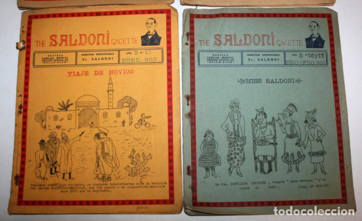 Coleccionismo de Revistas y Periódicos: THE SALDONI GACETTE. RARAS REVISTAS DE HUMOR. 27 NUMEROS (COMPLETA) AÑO 1929 AL 1931 - Foto 9 - 132383654