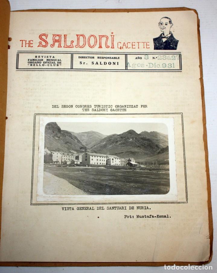 Coleccionismo de Revistas y Periódicos: THE SALDONI GACETTE. RARAS REVISTAS DE HUMOR. 27 NUMEROS (COMPLETA) AÑO 1929 AL 1931 - Foto 13 - 132383654