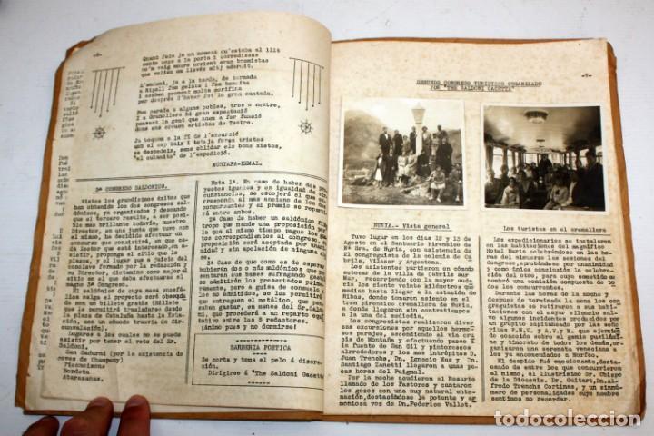 Coleccionismo de Revistas y Periódicos: THE SALDONI GACETTE. RARAS REVISTAS DE HUMOR. 27 NUMEROS (COMPLETA) AÑO 1929 AL 1931 - Foto 15 - 132383654