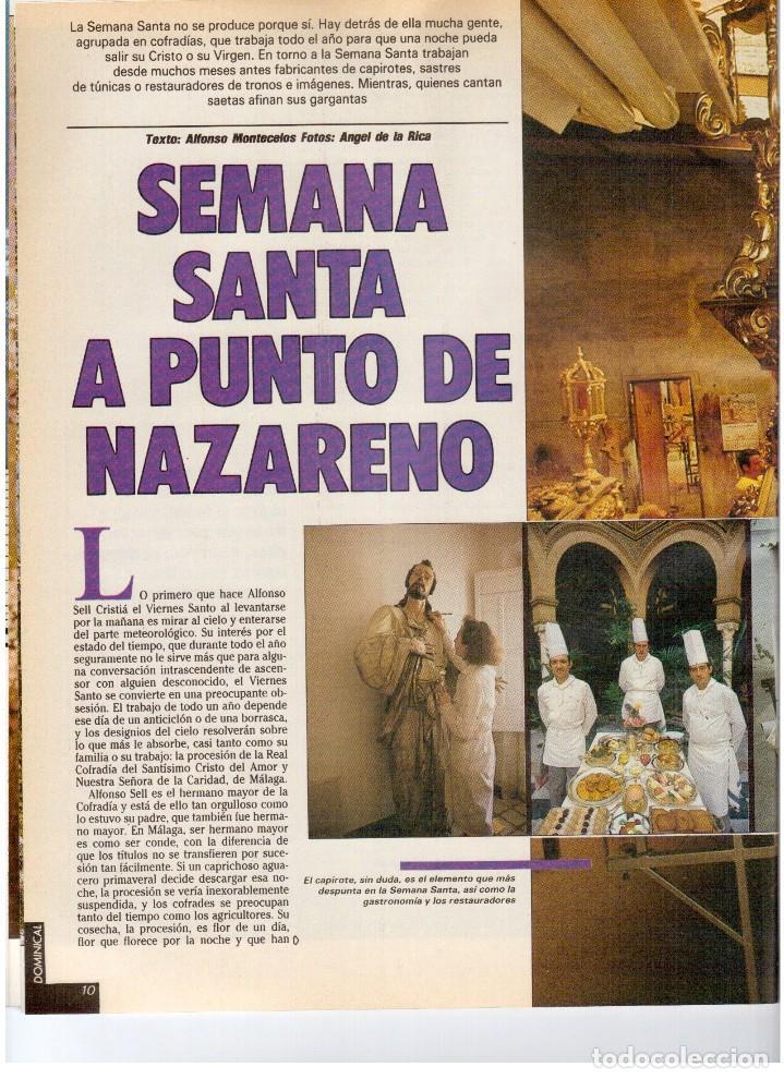 Coleccionismo de Revistas y Periódicos: 1987. EVARISTO GUERRA. SEMANA SANTA A PUNTO DE NAZARENO. GRABACIONES MARATONIANAS DE MIGUEL RIOS. - Foto 5 - 132400182
