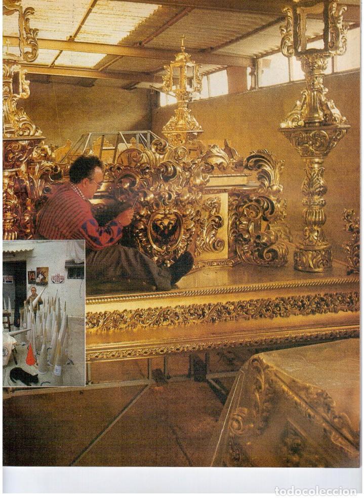 Coleccionismo de Revistas y Periódicos: 1987. EVARISTO GUERRA. SEMANA SANTA A PUNTO DE NAZARENO. GRABACIONES MARATONIANAS DE MIGUEL RIOS. - Foto 6 - 132400182