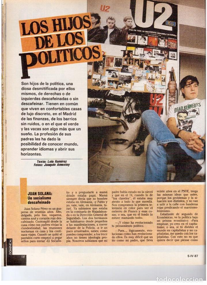 Coleccionismo de Revistas y Periódicos: 1987. EVARISTO GUERRA. SEMANA SANTA A PUNTO DE NAZARENO. GRABACIONES MARATONIANAS DE MIGUEL RIOS. - Foto 7 - 132400182