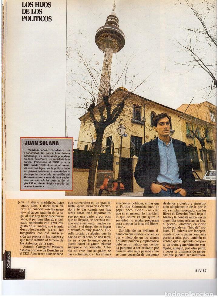 Coleccionismo de Revistas y Periódicos: 1987. EVARISTO GUERRA. SEMANA SANTA A PUNTO DE NAZARENO. GRABACIONES MARATONIANAS DE MIGUEL RIOS. - Foto 9 - 132400182