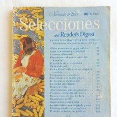 Coleccionismo de Revistas y Periódicos: REVISTA NOVIEMBRE DE 1957. READER'S DIGEST. Lote 132436990