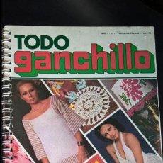 Coleccionismo de Revistas y Periódicos: REVISTA TODO GANCHILLO. VER FOTOS. 1978. . Lote 132451070