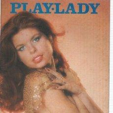 Coleccionismo de Revistas y Periódicos: PLAY LADY, NUMERO 27: POSTER CENTRAL BLANCA MERIL, CINDY LANE, EDWIGE FENECH, ENCARNACION PEÑA. Lote 132487938