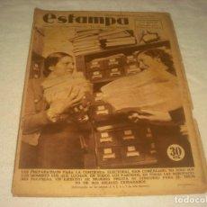 Coleccionismo de Revistas y Periódicos: ESTAMPA Nº419. ENERO 1936. PREPARATIVOS PARA LA CONTIENDA ELECTORAL.DETRAS GRETA GARBO DE COMUNION. Lote 132499918
