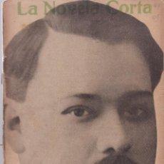 Coleccionismo de Revistas y Periódicos: LA NOVELA CORTA - ALBERTO INSÚA - LOS HOMBRES - Nº 46 / DICIEMBRE 1916. Lote 132560346