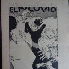 Coleccionismo de Revistas y Periódicos: ANTIGUA REVISTA - EL DILUVIO -Nº26 JULIO 1911 SUPLEMENTO ILUSTRADO , VER FOTOS. Lote 132582162