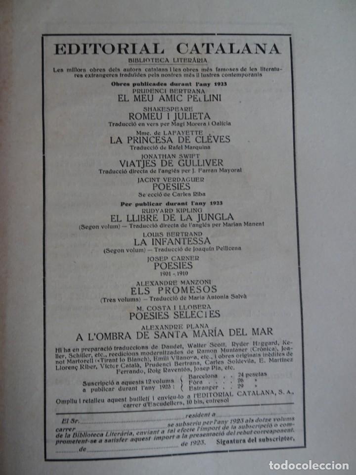 Coleccionismo de Revistas y Periódicos: ANTIGUA REVISTA - NOSTRA PARLA - Nº 18 JUNIO 1923 , VER FOTOS - Foto 5 - 132588926