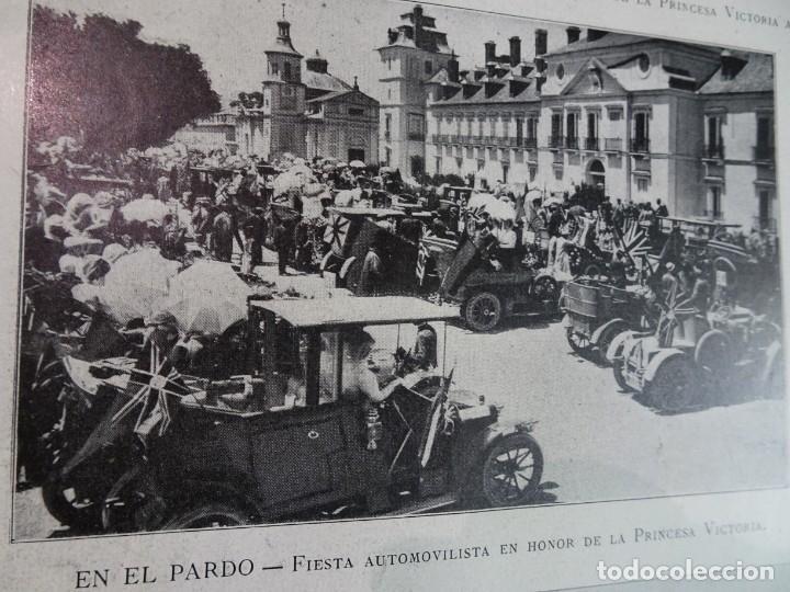 Coleccionismo de Revistas y Periódicos: ANTIGUO SEMANARIO ILUSTRADO - ALBUM SALÓN- LA PRINCESA VICTORIA DE BATTEMBERG , VER FOTOS - Foto 4 - 132627770