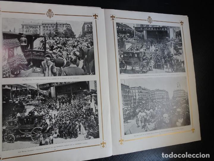 Coleccionismo de Revistas y Periódicos: ANTIGUO SEMANARIO ILUSTRADO - ALBUM SALÓN- LA PRINCESA VICTORIA DE BATTEMBERG , VER FOTOS - Foto 6 - 132627770