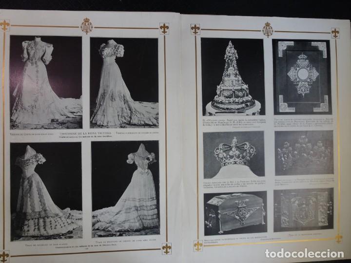Coleccionismo de Revistas y Periódicos: ANTIGUO SEMANARIO ILUSTRADO - ALBUM SALÓN- LA PRINCESA VICTORIA DE BATTEMBERG , VER FOTOS - Foto 7 - 132627770